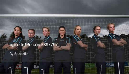 Launch of the UCD Waves FC Team into the FAI Women's National League