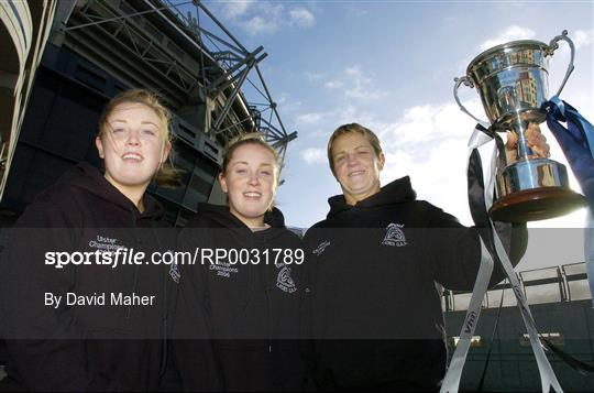 Vhi Healthcare All-Ireland Ladies Club Final Captains Day
