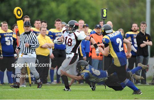 University of Limerick Vikings v Dublin Rebels - Shamrock Bowl XXII