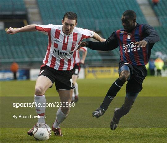 Derry City v St Patrick's Athletic - FAI Carlsberg Senior Challenge Cup Final