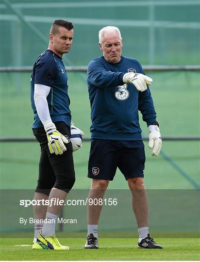 Republic of Ireland Squad Training - Monday 1st September 2014