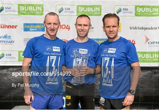 Half Marathon - SSE Airtricity Dublin Race Series 2014