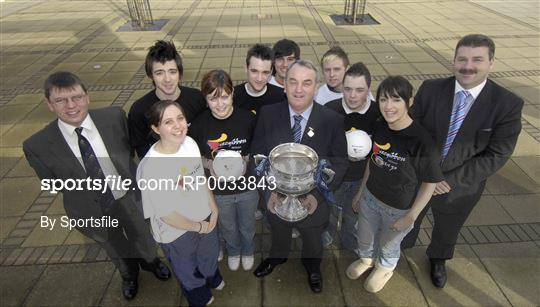 Launch of Ulster Bank Fitzgibbon Cup at IT Carlow