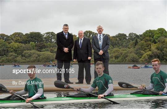 Completion of the First Phase of International Standard Rowing Facility in Co. Leitrim