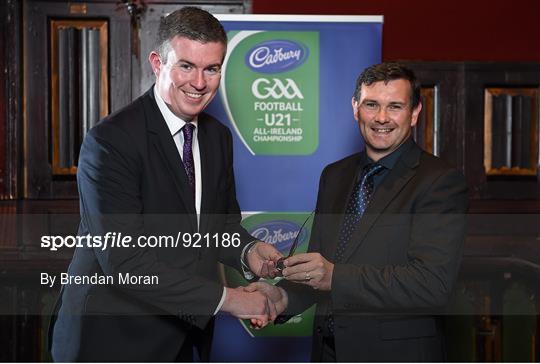 Cadbury Gaelic Writers Association Awards 2014