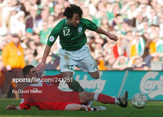 Republic of Ireland v Wales - 2008 European Championship Qualifier