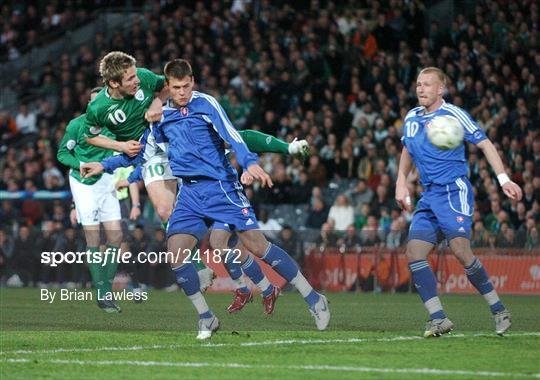 Republic of Ireland v Slovakia - 2008 European Championship Qualifier