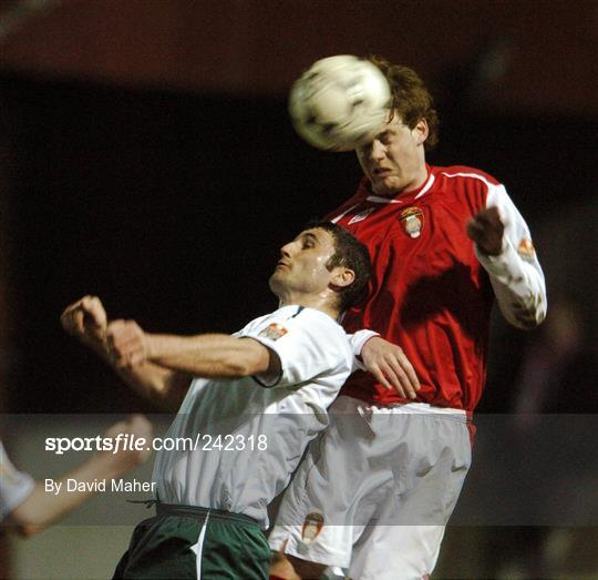 St Patrick's Athletic v Bray Wanderers - eircom League Premier Division