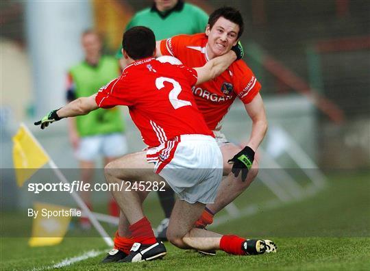 Cork v Armagh - Cadbury All-Ireland U21 Football Semi-Final