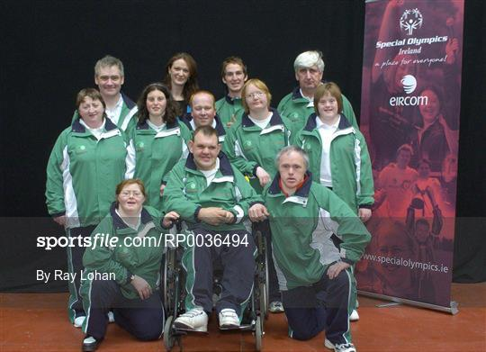 Sportsfile - Team Ireland announcement for 2007 Special Olympics World Games - RP0036494