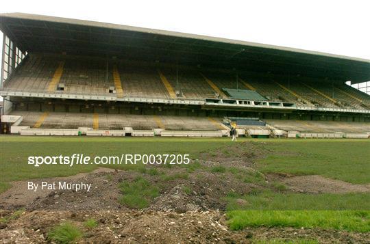 Lansdowne Road Stadium Demolitian