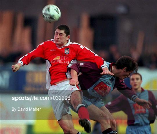 St Patrick's Athletic v Drogheda United - Eircom League Premier Division
