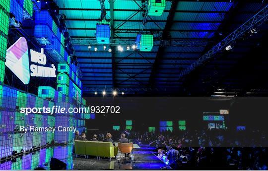 2014 Web Summit - Day 3 - Centre Stage