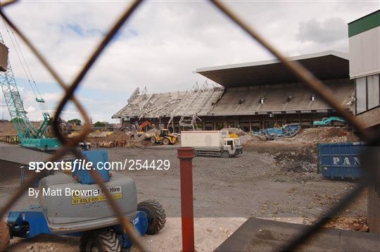 Demolition of East Stand - Lansdowne Road