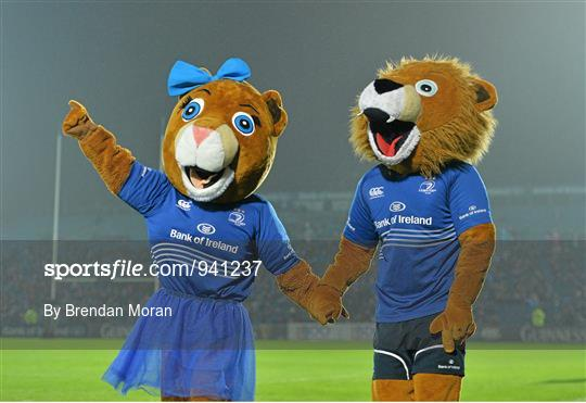 Sportsfile Leona The Lioness And Leo The Lion Celebrate One Year