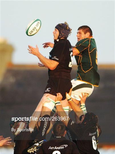 Connacht v South Africa - Rugby World Cup Warm Up Game