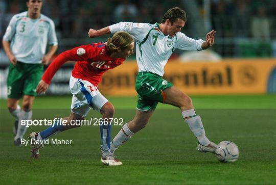Czech Republic v Republic of Ireland - 2008 European Championship Qualifier