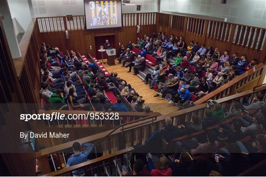 UCD GAA Club Event - An Evening with Brian Cody and Eamonn Ryan