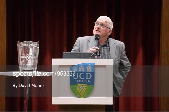 UCD GAA Club Event - An Evening with Brian Cody and Eamonn Ryan