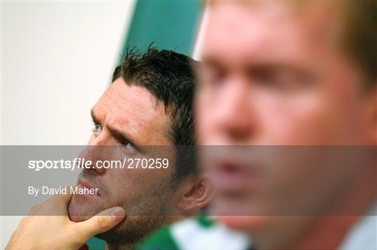 Republic of Ireland Press Conference - Friday