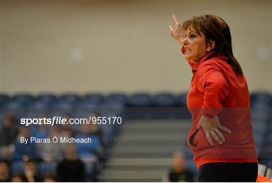 DCU Mercy v Glanmire BC - Basketball Ireland Women's U18 National Cup Final