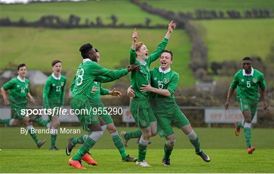 Republic of Ireland v Scotland - U15 Soccer International