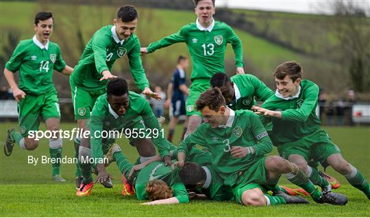 Republic of Ireland v Scotland - U15 Soccer International