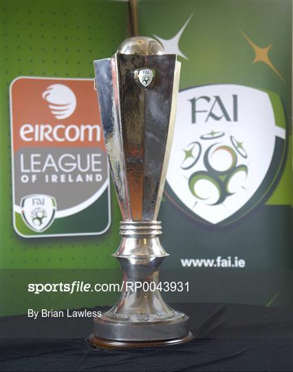 FAI unveil new eircom League of Ireland Premier Division Trophy