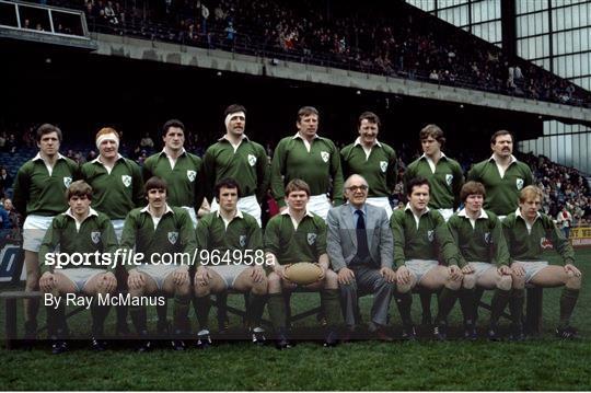 Ireland v England - International Rugby Archive Imagery