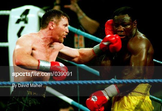 Steve Collins v Chris Eubank - Super-Middleweight Title Fight