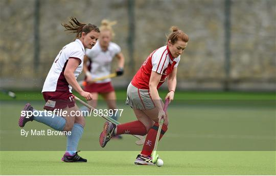 Pegasus v Loreto - Irish Hockey League 2015 - Women's Final