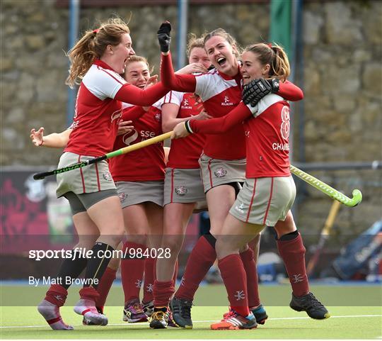 Pegasus v Loreto - Irish Hockey League 2015 - Women's Final