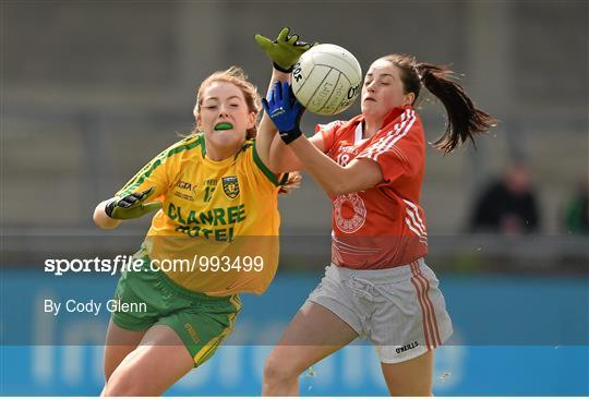 Armagh v Donegal - TESCO HomeGrown Ladies National Football League Division 2 Final