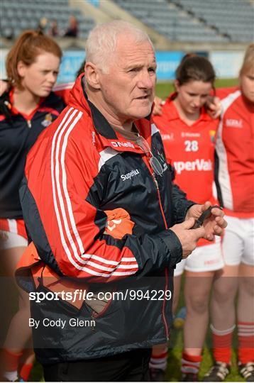 Cork v Galway - TESCO HomeGrown Ladies National Football League Division 1 Final