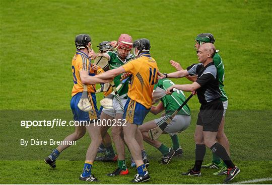 Clare v Limerick - Munster GAA Hurling Senior Championship Quarter-Final
