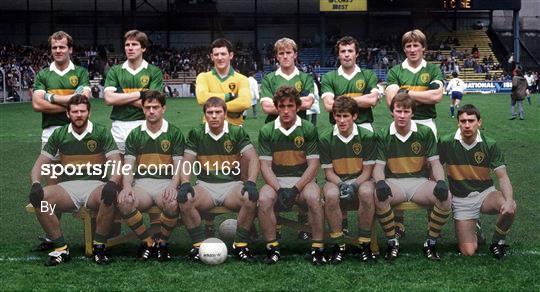 Kerry v Monaghan - All Ireland Football Semi Final