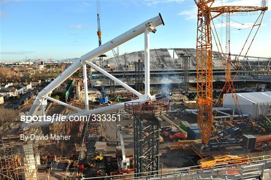 General Views of Lansdowne Road Re-Development