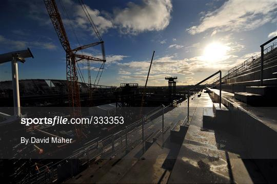 General Views of Lansdowne Road Re-Development