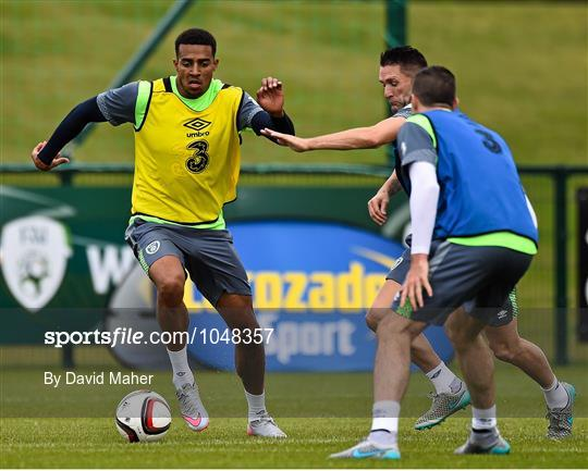 Republic of Ireland Squad Training