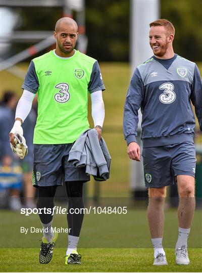 Republic of Ireland Squad Training