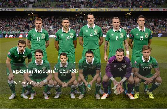 Republic of Ireland v Georgia - UEFA EURO 2016 Championship Qualifier, Group D