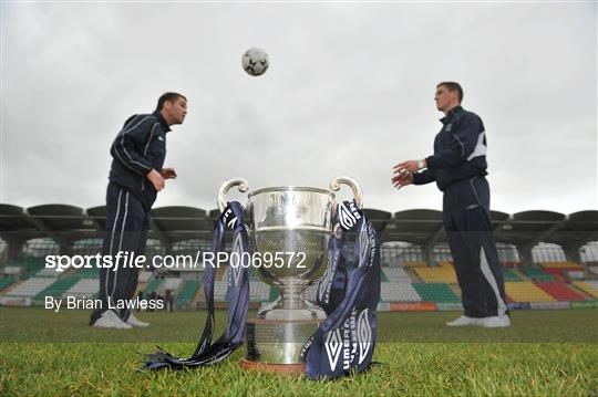 FAI Umbro Intermediate Challenge Cup Final Photocall