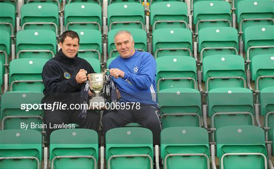 FAI Umbro Intermediate Challenge Cup Final Photocall