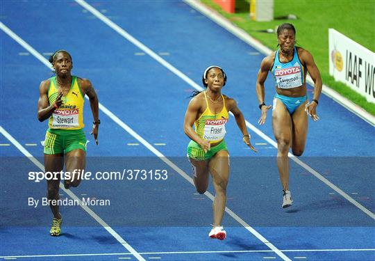 12th IAAF World Championships in Athletics - Berlin - Day 3 Monday