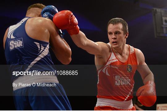 Sportsfile - IABA Elite Boxing Championship Finals Photos
