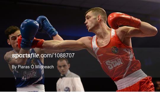 Sportsfile - IABA Elite Boxing Championship Finals Photos