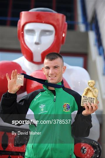 John Joe Nevin Receives Bronze Medal