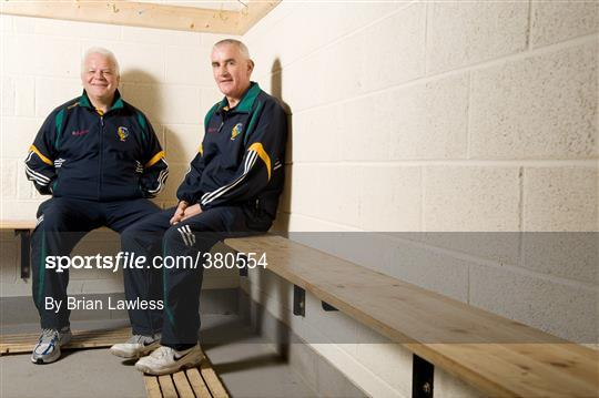 GAA Managers Portraits - Mickey Moran and John Morrison