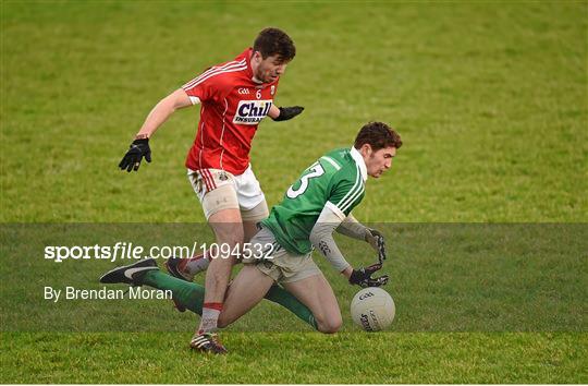 Cork v Limerick - McGrath Cup Football Group B Round 1