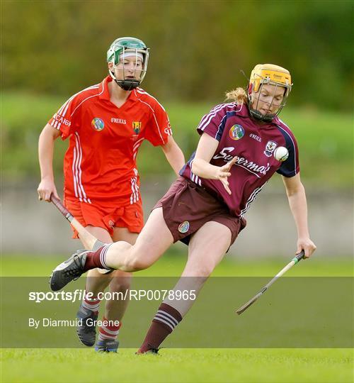 Cork v Galway - Gala All-Ireland Intermediate Camogie Championship Final Replay